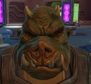 Gamorrean head