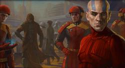 Malak en Revan met Republic leger