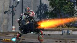 Trooper Commando met heavy gun