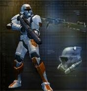 The old republic trooper armour