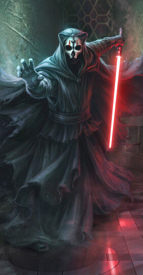 Star Wars, Darth Nihilus, Lord of Hunger, member of the Sith Triumvirate