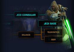 Jedi Consular skill boom
