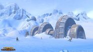 Republic's shield generator on Hoth