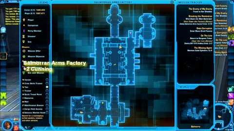 Datacron Locations - Balmorra (Empire) - Game Cannon SWTOR