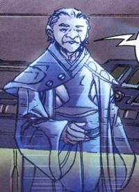Unidentified messenger Jedi