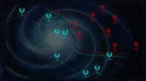 Galaxy verdeelt in twee helfden