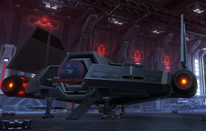 Imperial Shuttle (rear)