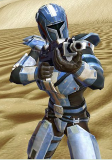 Mandalorian Hunter (Tatooine)