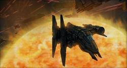 Naga Sadow vlucht