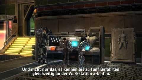 Star Wars The Old Republic - Crew-Fähigkeiten Entwicklerbericht Video