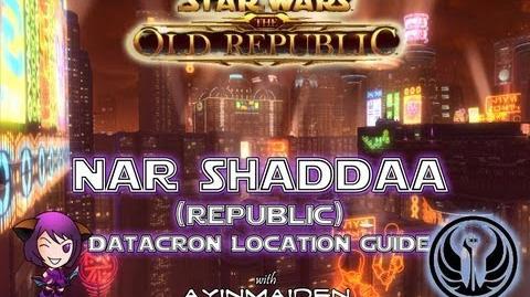 ★ SWTOR ★ - Datacron Location Guide - Nar Shaddaa (Republic)