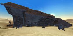 Tarsis'Krall wreckage