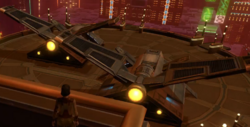 Imperial Assault shuttles (Nar Shadaa)