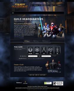 Guild Headquarters pagina