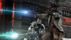 Trooper en Smuggler vechten zij aan zij