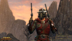 Een Bounty Hunter Mercenary