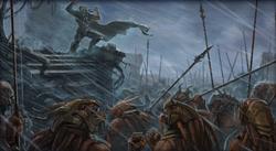 Exar Kun en Massassi leger