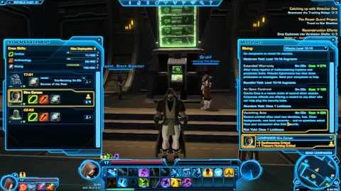 SWTOR - Slicing Tutorial = Easy Credit's