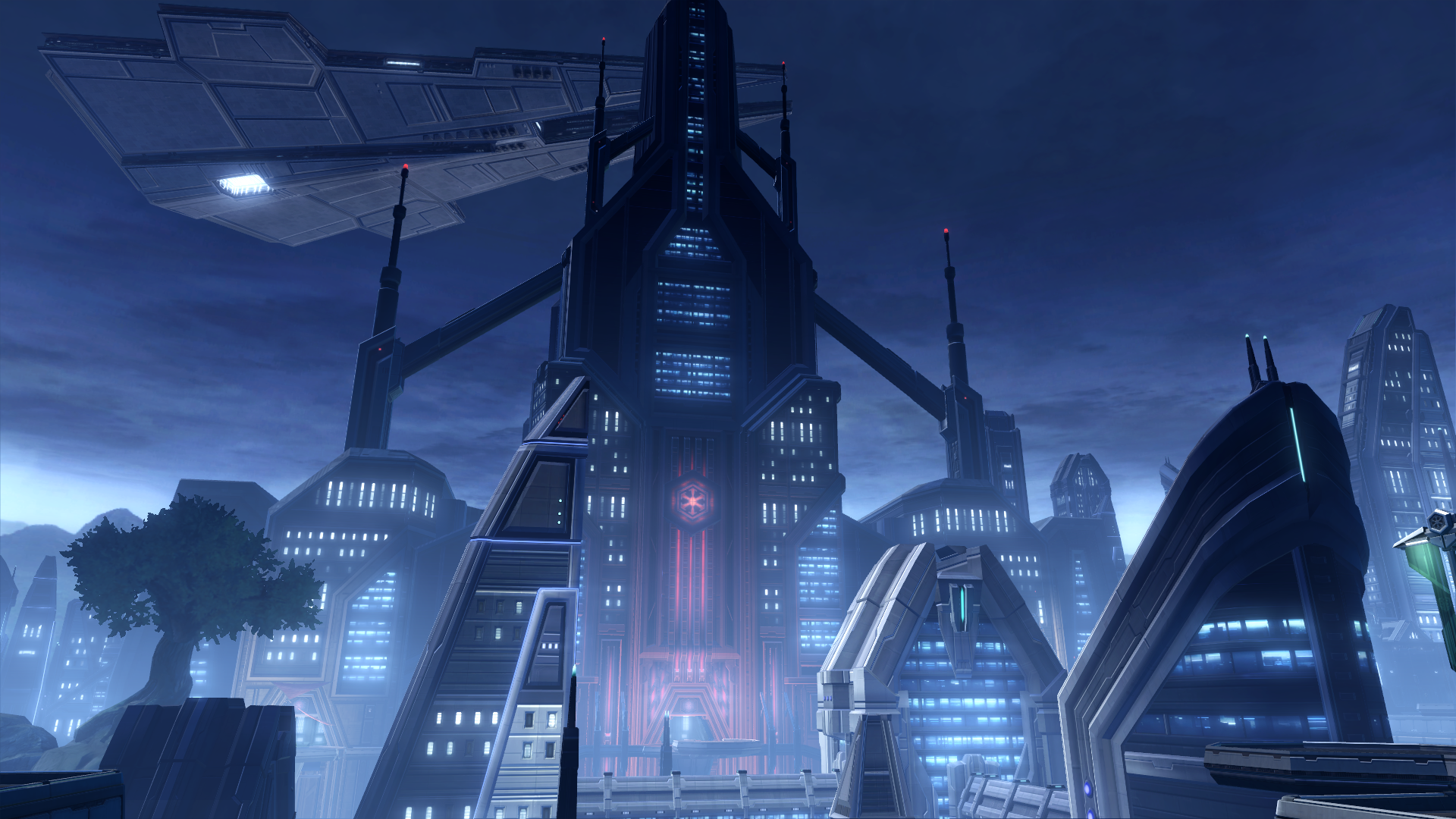 Travel To Imperial Fleet In Kass City