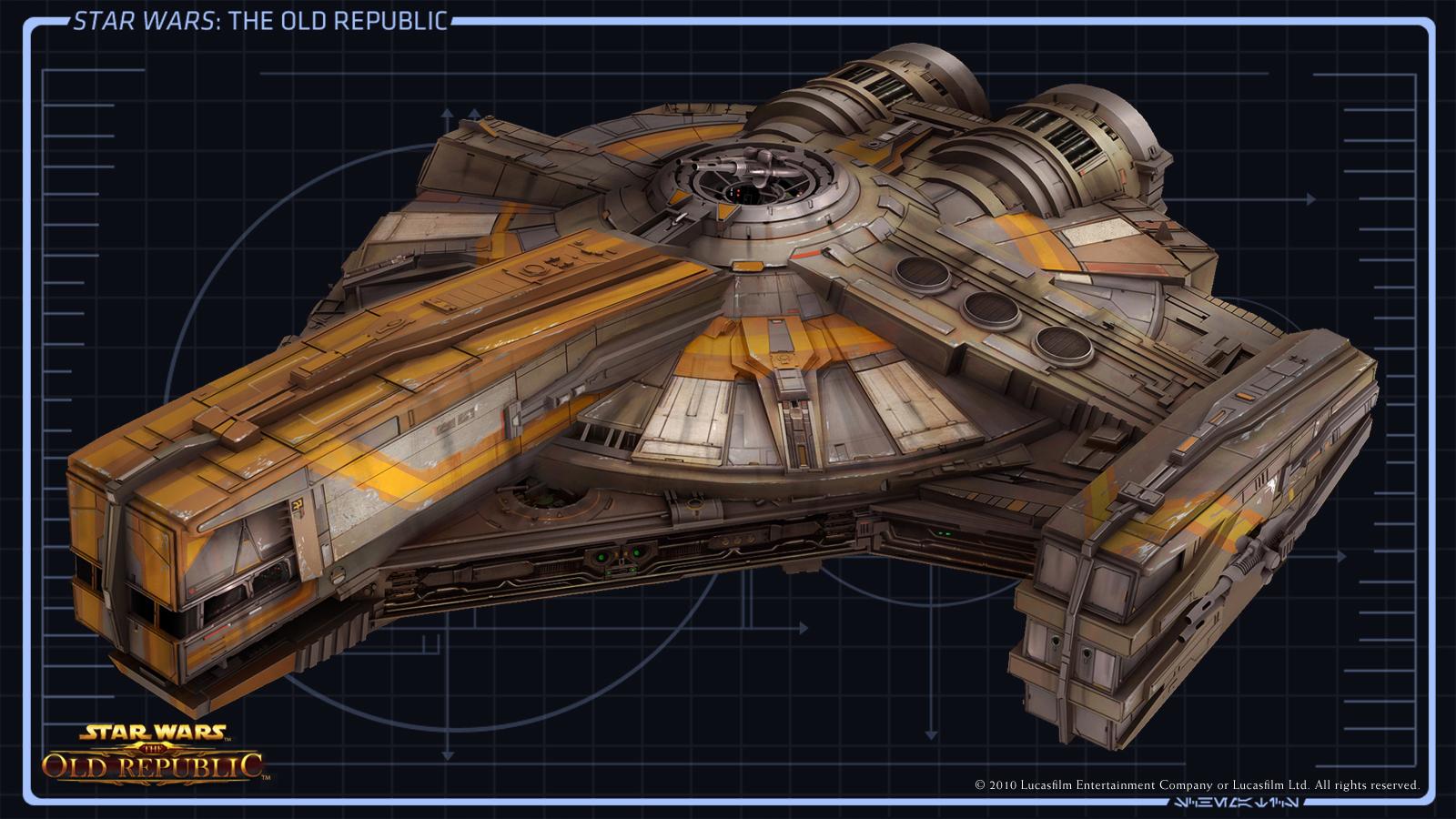 Image CA Smuggler Ship01 Fulljpg Star Wars The Old