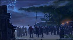 De Sith Emperor belooft zijn mensen wraak