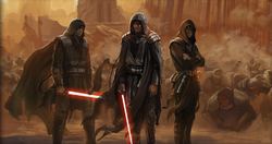 The First Dark Sith Lords on Korriban