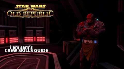 Star Wars The Old Republic - Crew Skills Guide