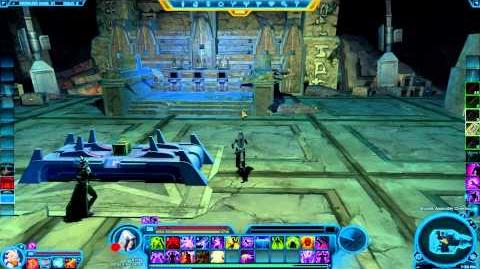 SWTOR - How to Assemble & Disassemble a Matrix Cube or Relic (Empire)