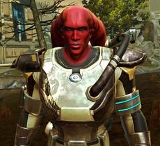 Unidentified Mandalorian Commander