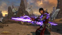 Sith Inquisitor met Lightning