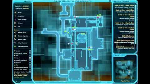 Datacron Locations - Republic Fleet (Republic) - Game Cannon SWTOR