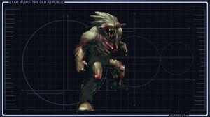 Een typische Flesh Raider