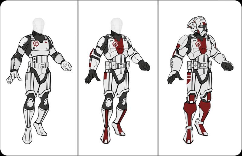 Old Republic Droid Concept Art
