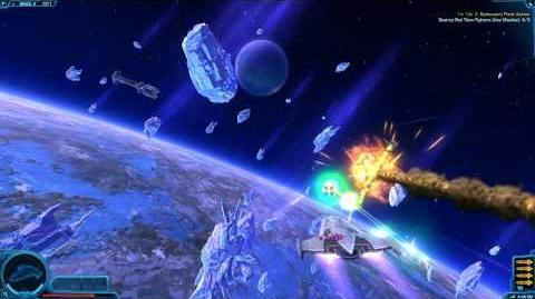 Space Combat - Saleucami fleet action part 2 - SWTOR TOR