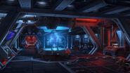 Fury-class Imperial Interceptor hologram