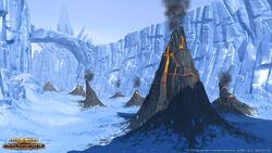 Vulkanische activiteiten op Hoth