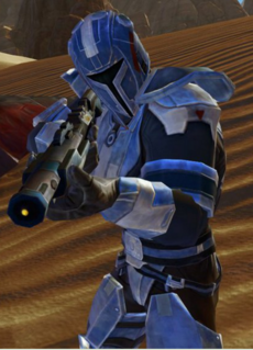 Unidentified Mandalorian Freelancer