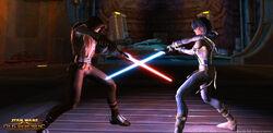 Dark Side vs Jedi