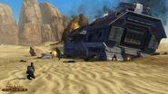 Abgestürzter Gefangentranzport auf Tatooine