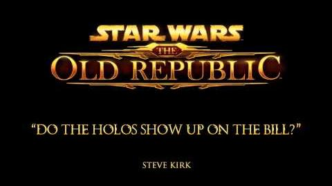 Do the Holos Show Up on the Bill? - The Music of STAR WARS The Old Republic