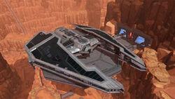 Fury-class Imperial Interceptor uiterlijk