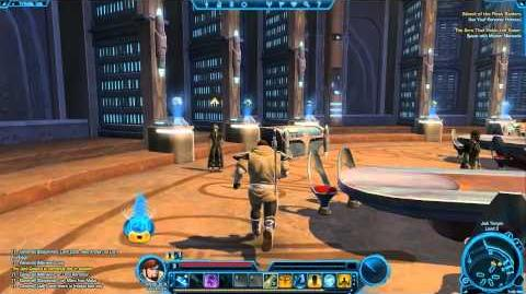 Jedi Temple on Tython - Star Wars The Old Republic TOR