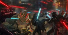 Great War Jedi vs Sith