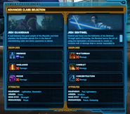 SWTOR Advanced Classes
