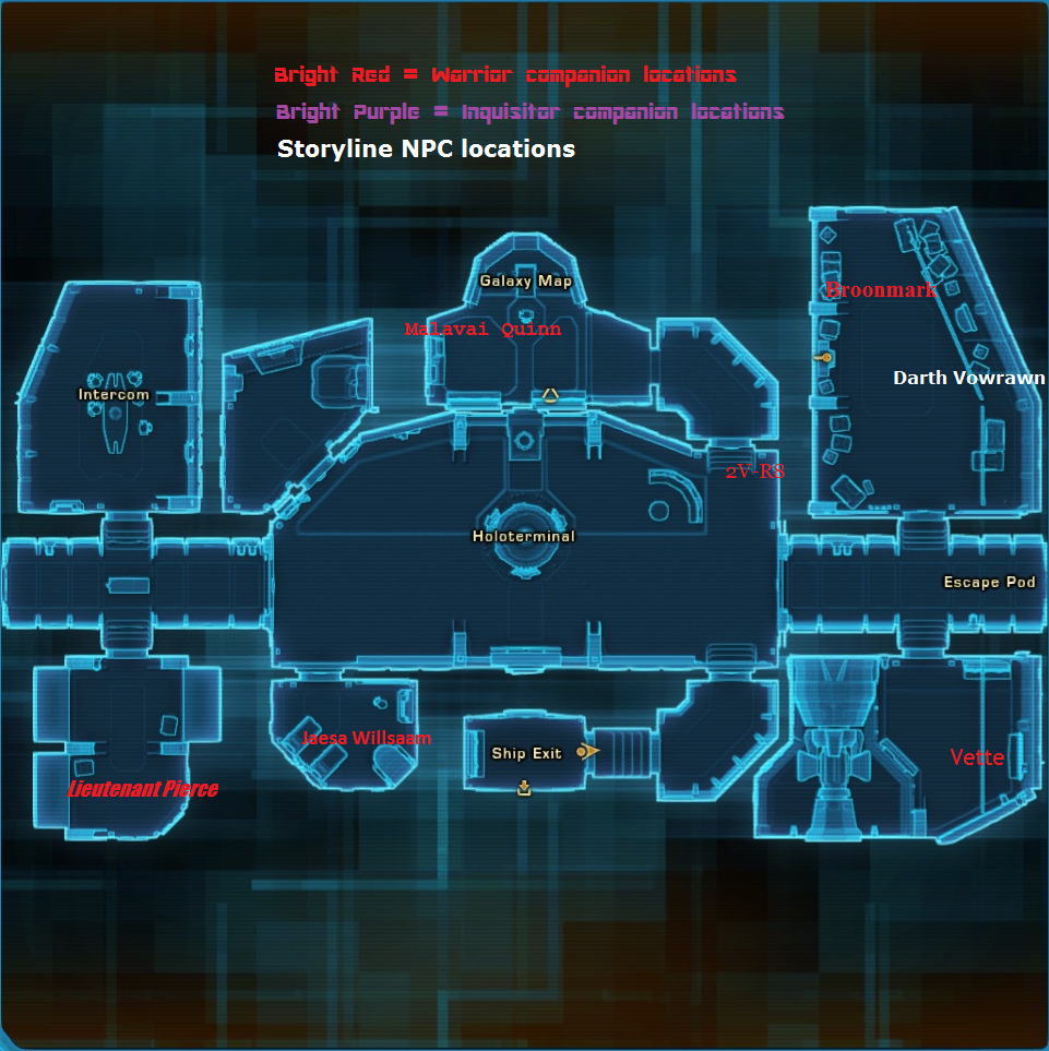 Image Fury Ingame AREA Mappng Star Wars The Old Republic - Star wars old republic us map