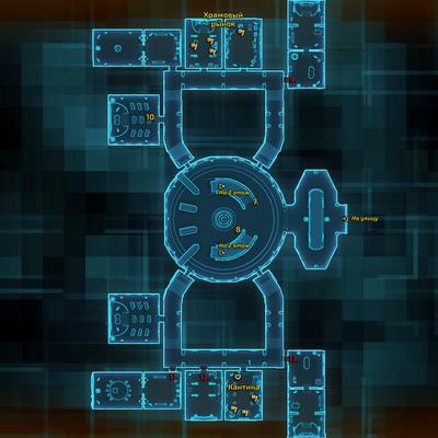 Map.tython.jedi temple.level 1