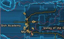 Sith Academy Exterior Map
