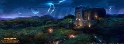 Dromund Kass ruïnes en omgeving