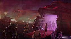 Terug trekking van de Republic