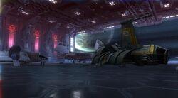 Vaiken Spacedock (hanger door)